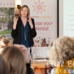 Hilary Lees, Essence Coaching, speaking at networking