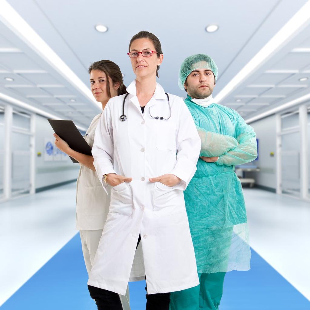 People-pleasing - medical staff waiting